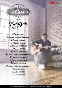 Tour Date Sicilia 2017